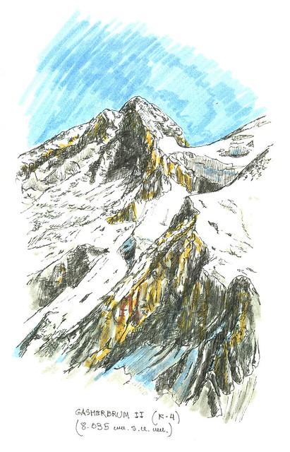 Gasherbrum II (8.035 m.s.n.m.)