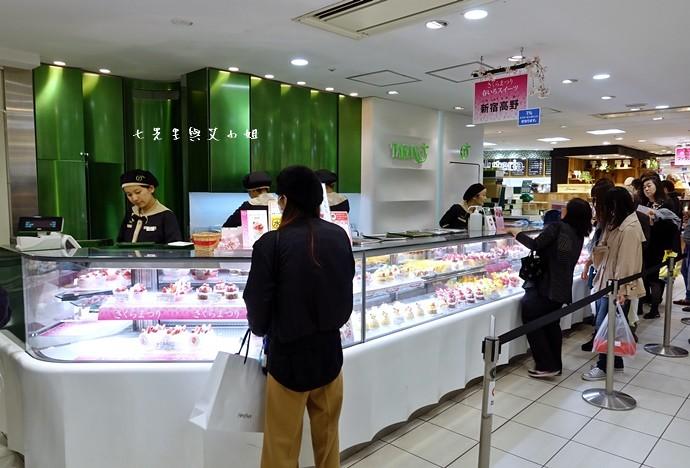 1 新宿高野 TAKANO 東京池袋西武百貨 水果蛋糕 草莓蛋糕