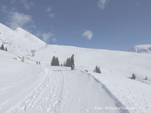Schnee und Frühling in Südtirol