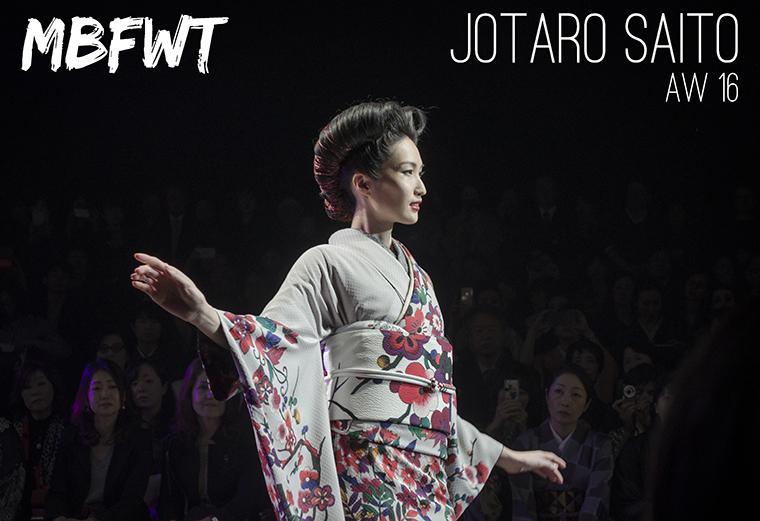 Mercedes Benz Fashion Week Tokyo Jotaro Saito