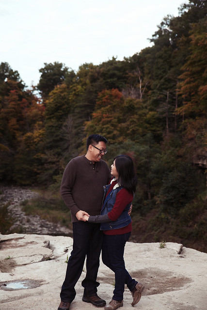 Rita & Chris | Ball's Falls Artistic Story Telling Engagement Photography