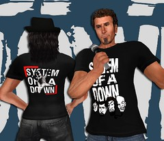 Brand new System of a Down mens tee at VYPER