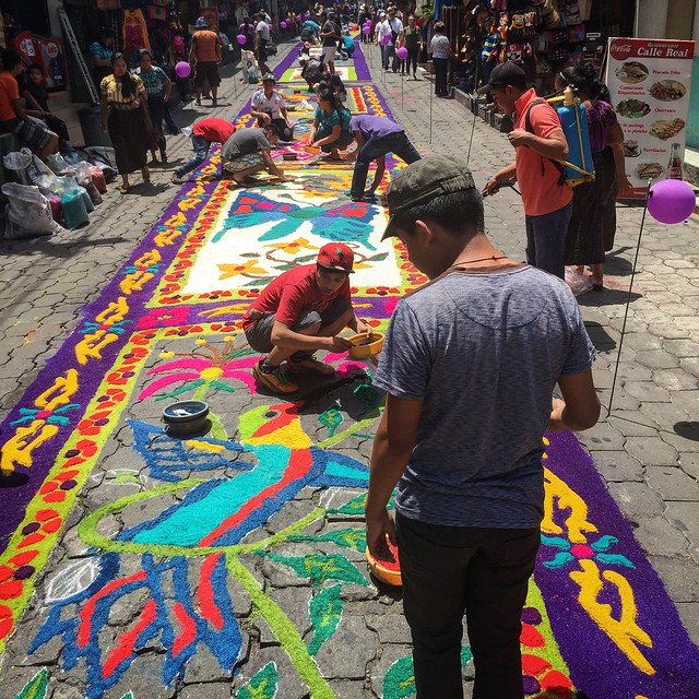 Making Alfombras