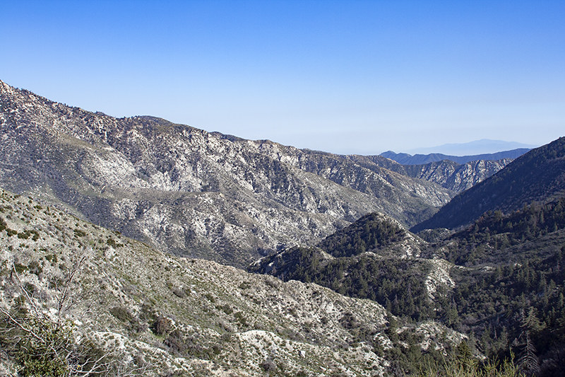 Angeles National Forest, Devil's Canyon Hike