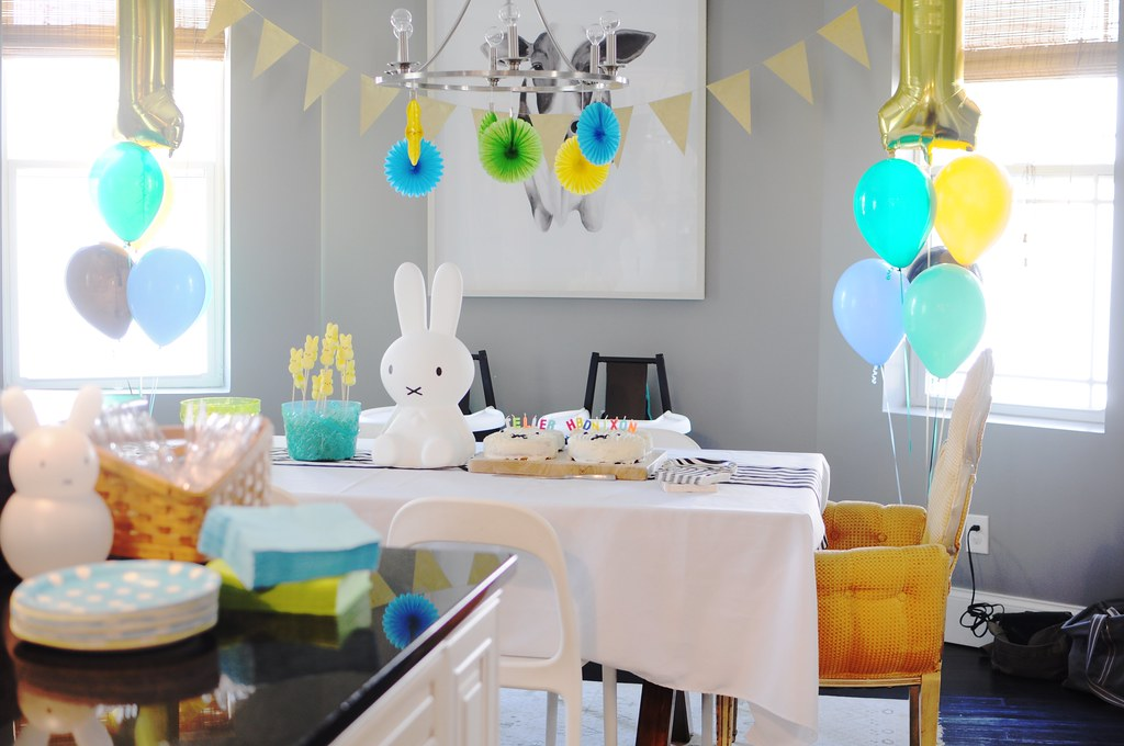 Miffy First Birthday Party