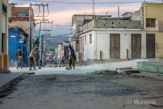Breathing lime, Santiago de Cuba, Cuba (2015)