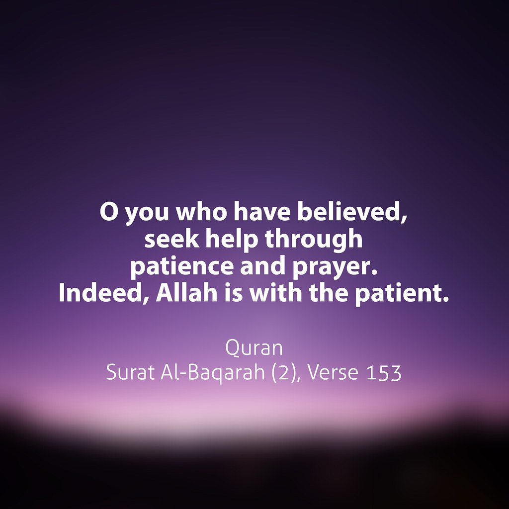 Image result for allah is with the patient