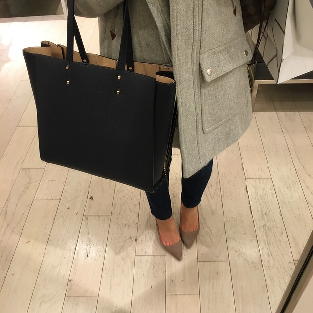 Ann Taylor Signature Large Tote