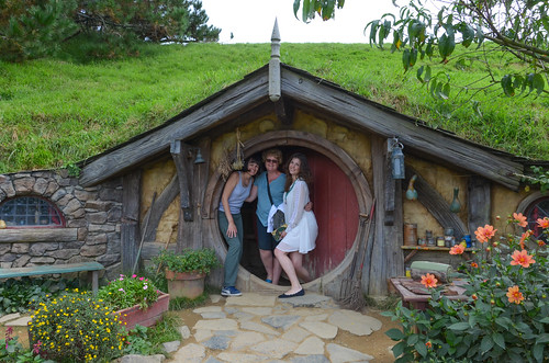 The only Hobbiton door that opens
