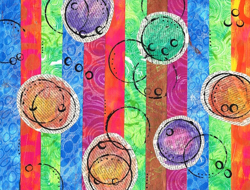 Gelli® Print collage