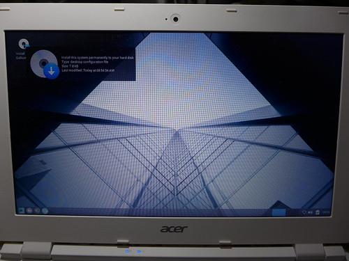 GalliumOS@Acer Chromebook CB3-111