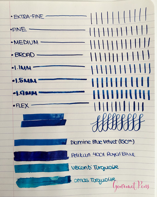 Ink Shot Review Diamine 150th Anniversary Blue Velvet @AppelboomL (8)