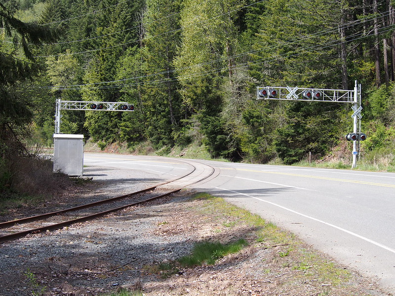 Old Tacoma Eastern Railroad Crossing