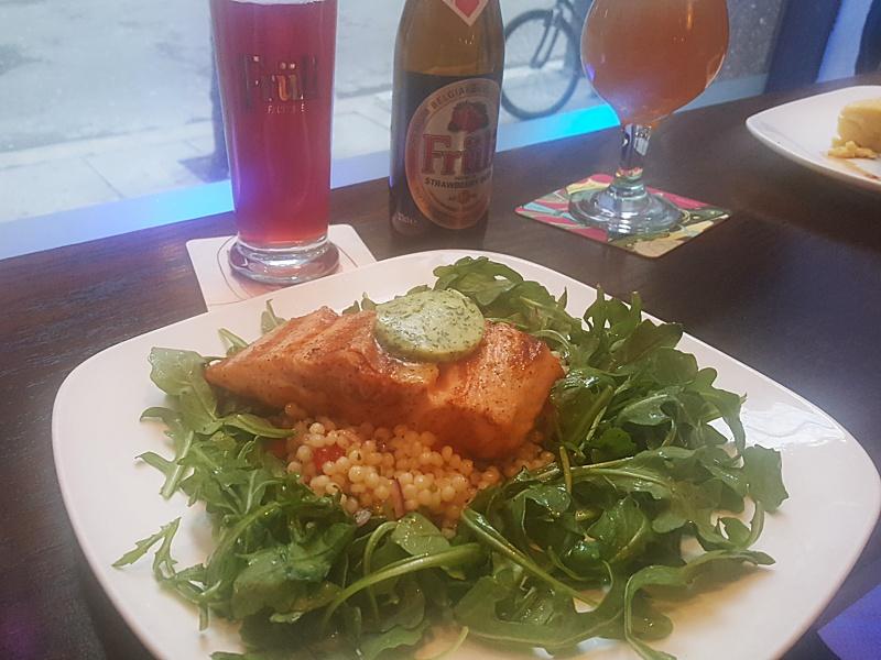 Beer Bistro salmon