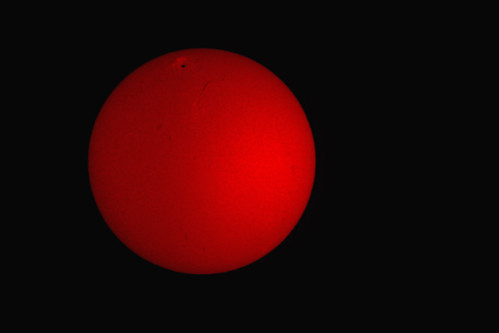 My first Image from the sun
