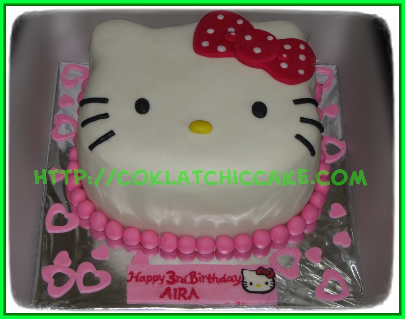 Cake Hello Kitty Face