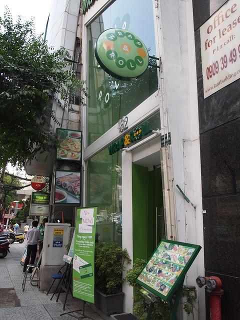 P6279946 Wrap & Roll ラップ&ロール ベトナム ホーチミン 生春巻き専門店