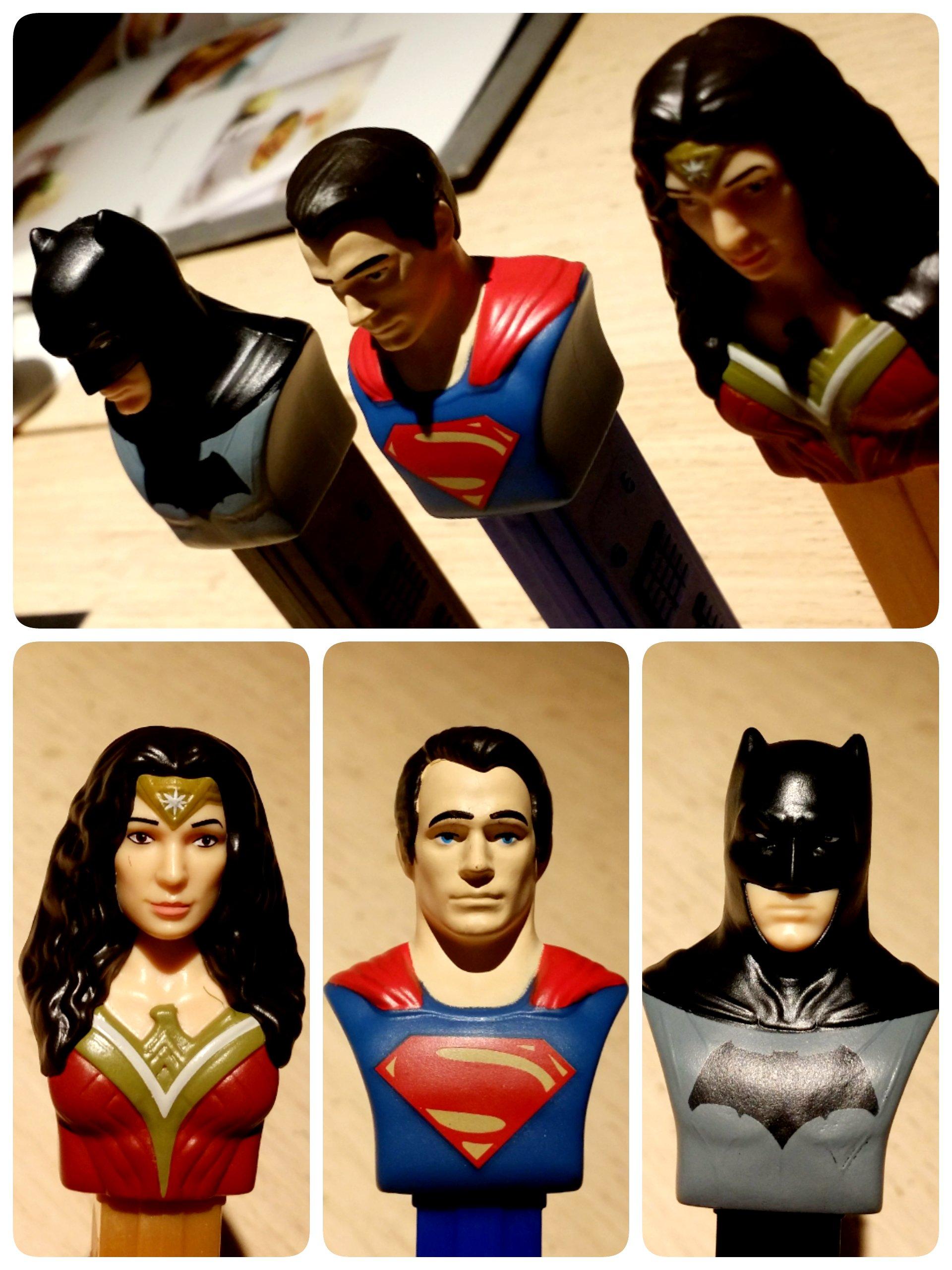#batmanvssupermandawnofjustice #pez #batman #superman #wonderwoman #batfleck #benaffleck #henrycavill #galgadot #dccomics