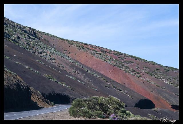 Tenerife Parque Nacional Teide Valle la Orotava - Contrastes en las paredes
