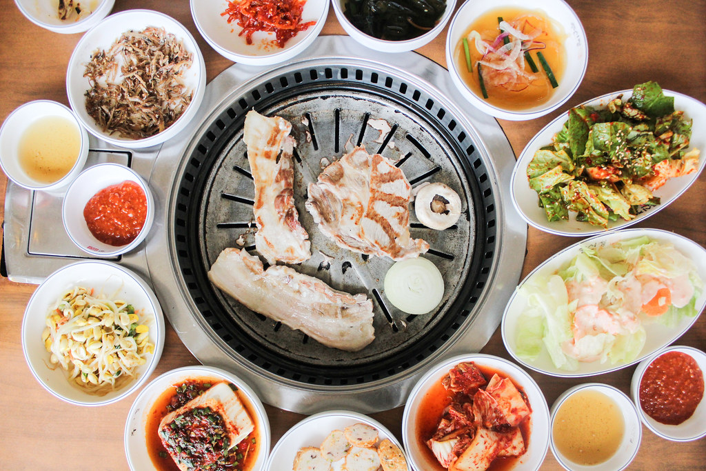 Korean Restaurant Guide App