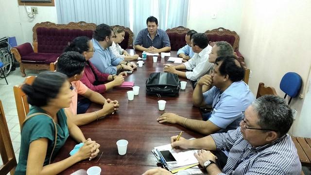 Reunião discute serviço de transporte coletivo em Santarém
