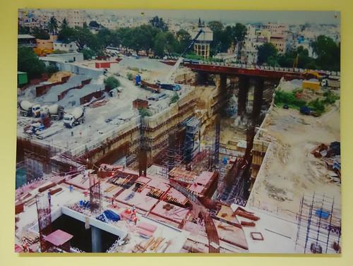 Pictures of Bangalore Metro Construction 38