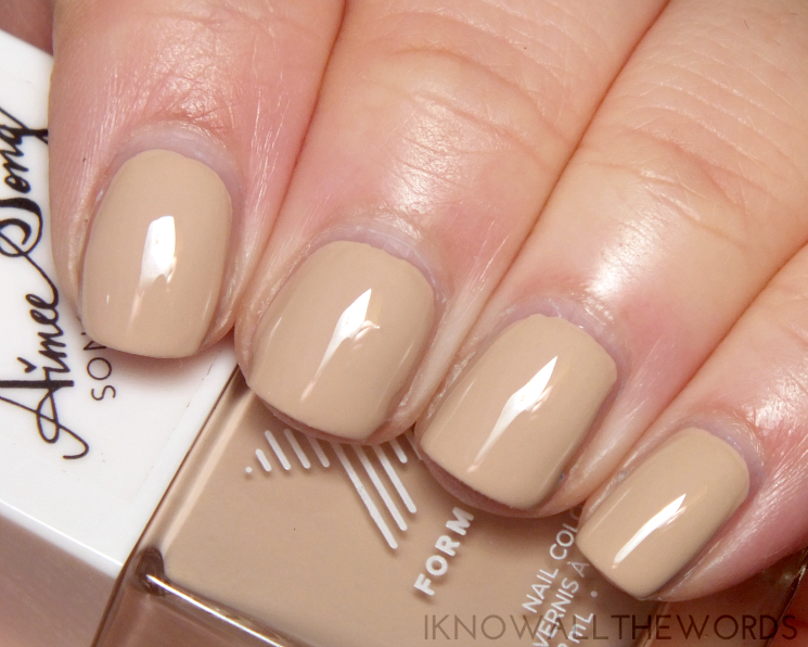 Formula X #ColourCurators January Nude for You
