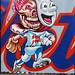 Mets Head @ Bushwick collective by ZUCCONY