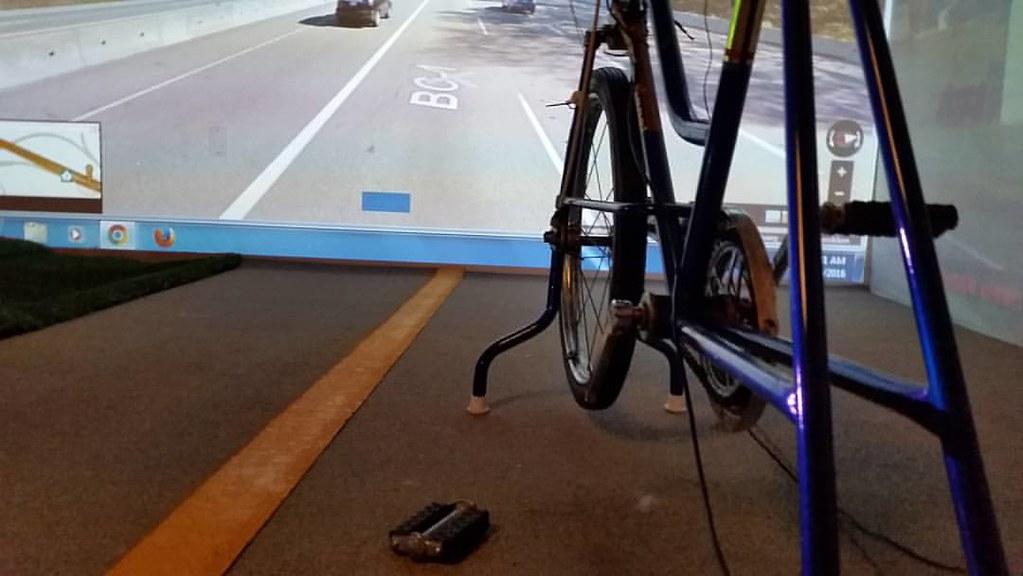Broken pedal #ridingthroughwalls