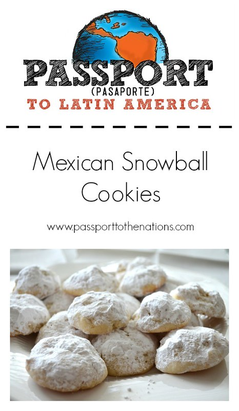 Mexican Snowball Cookies | Passport to the Nations