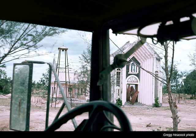 DUC PHO 1967 - Damaged Church - Photo by Gregg Heacock