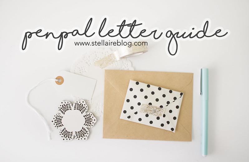 penpal letter guide