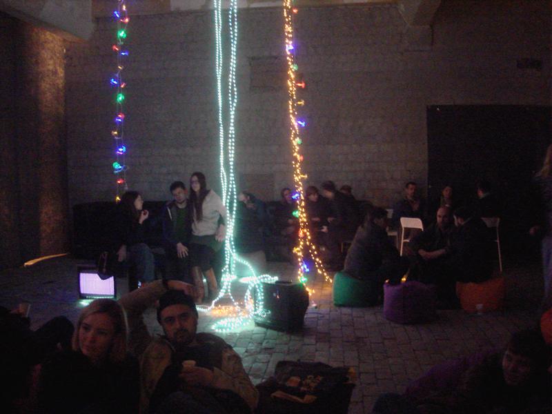 new year party kiev silent film presentation