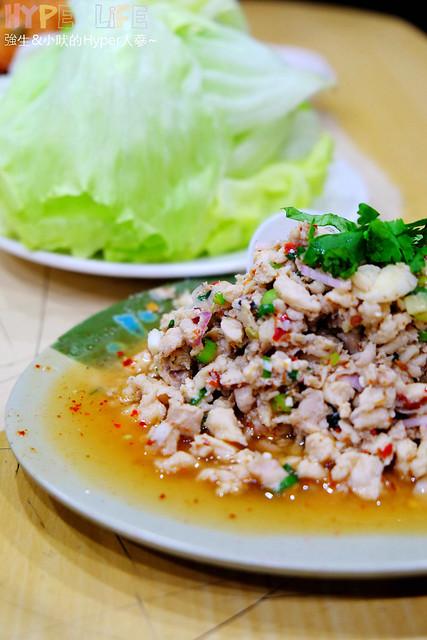 23945954379 473db7ecba z - 台中平價泰式料理《泰國小吃》,綠咖哩雞好下飯有推!!魚餅份量超澎湃~