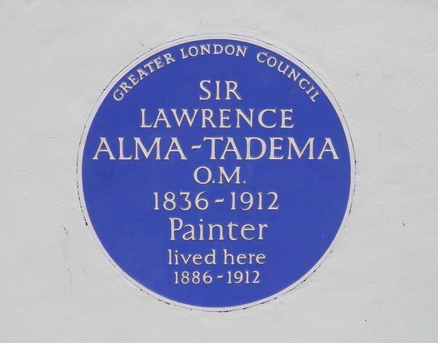 Sir Lawrence Alma-Tadema's house, 44 Grove End Road, London - Painter lived here 1886-1912