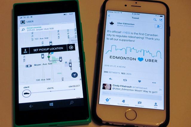 Uber in Edmonton