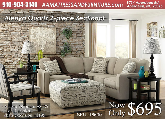 Alenya Quartz 2 Piece Sectional WM