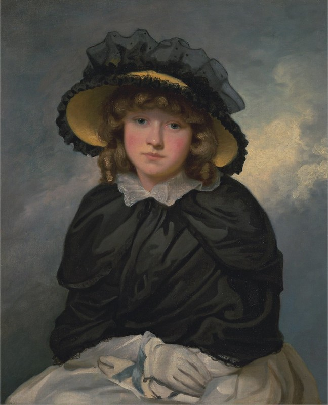 John Hoppner - Louisa Lane, Called 'Cecilia'