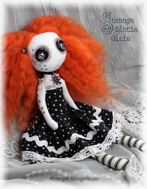 Gothic Doll - Saffron Star
