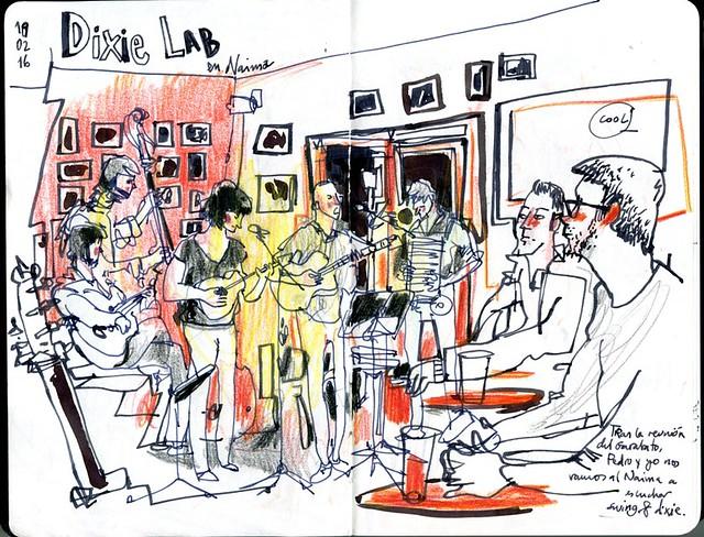 Dixie Lab music