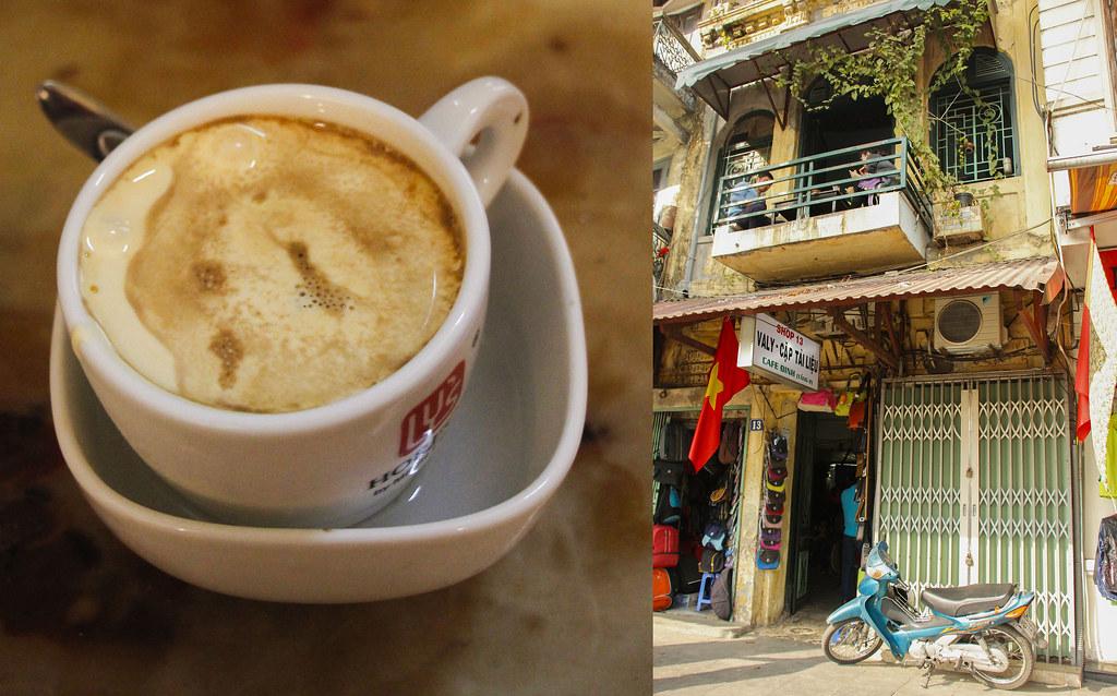 Hanois bedste egg coffee