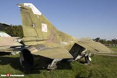 120 - 0390217120 - Polish Air Force - Mikoyan-Gurevich MiG-23MF - Polish Aviation Musuem - Krakow, Poland - 151010 - Steven Gray - IMG_0379