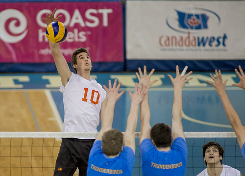 WolfPack Men's Volleyball Pull Off Big Win At UBC