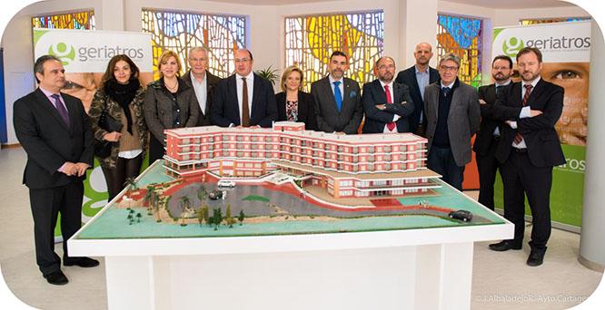 Cartagena aumenta un 38 por ciento sus plazas para mayores con la apertura de la Residencia Fuente Cubas