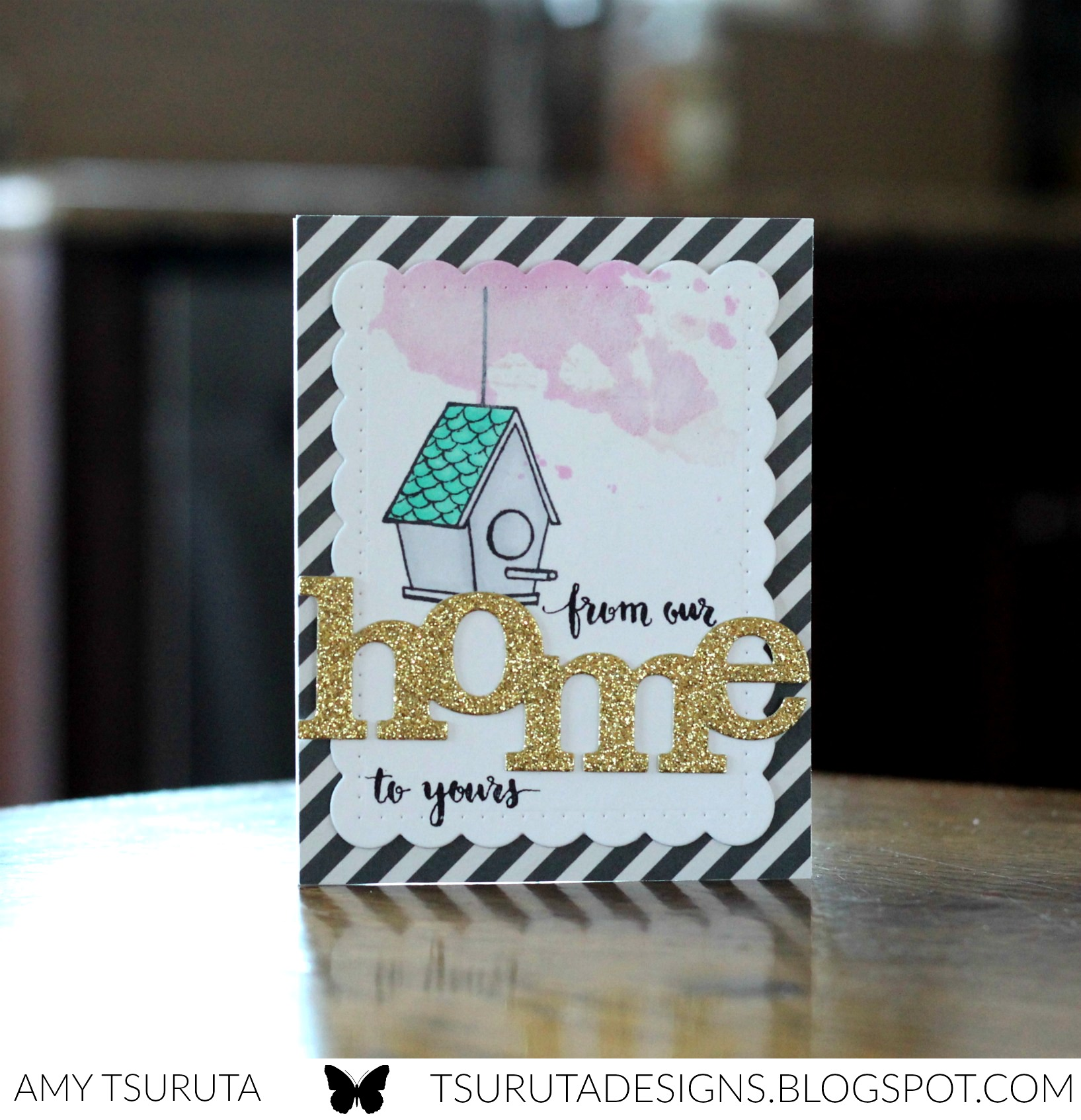 home by Amy Tsuruta for Winnie and Walter's 2nd Birthday Bash