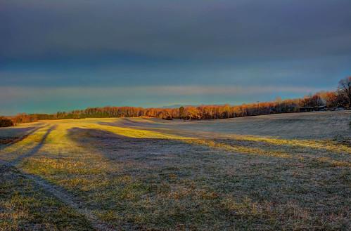 trees rural photoshop sunrise us nikon unitedstates northcarolina pasture hdr photomatixpro adobelightroom cherryville cherryvillenc