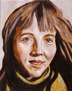 Portrett of Ásdís Pétursdóttir