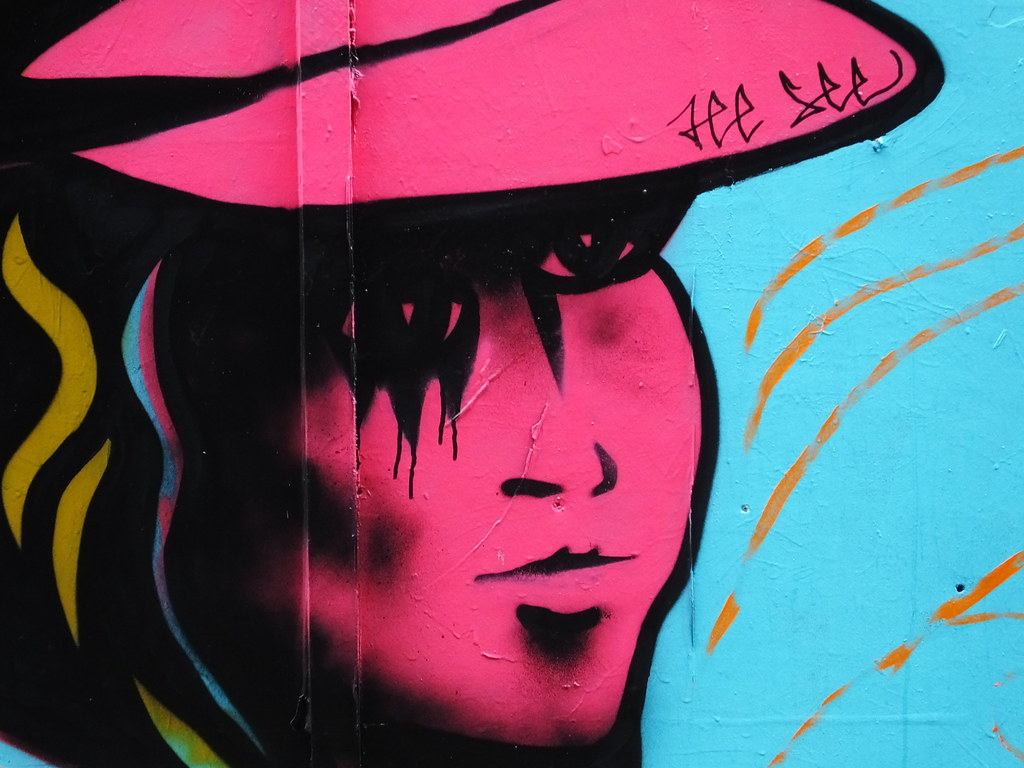 Blackall Lane Street art jam