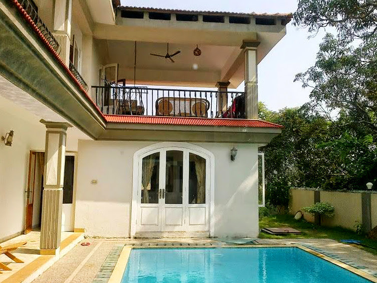 4 BHk Villa with Private Pool & Garden Anjuna Goa