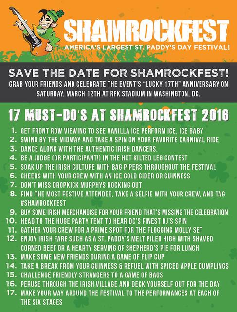 Shamrockfest 2016 - Top 17